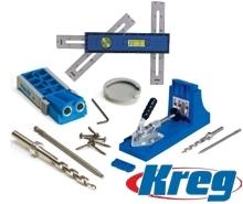 Приспособления для соединений древесины KREG