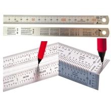 Линейки разметочные и измерительные