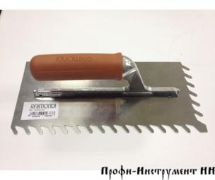 Шпатель 280х130мм с косым зубом 10 х 10 RAIMONDI