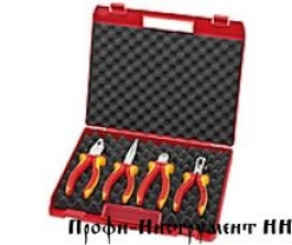 Чемодан пластиковый Kompakt-box с инструментом 4 предмета KNIPEX 00 20 15