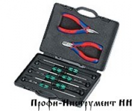 Набор инструментов для электроники KNIPEX 00 20 18