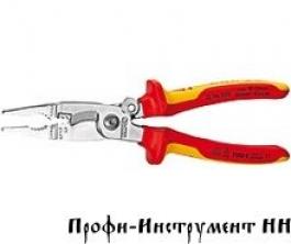 Многофункциональные клещи для электромонтажных работ KNIPEX 13 96 200