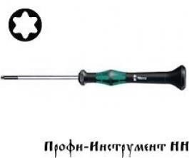 2067 Отвертка TORx® HF с фиксирующей функцией, для электронщиков  Tx 4/40 мм