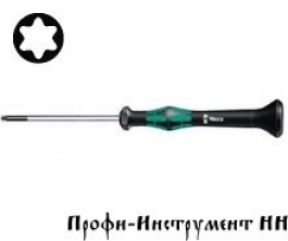 2067 Отвертка TORx® HF с фиксирующей функцией, для электронщиков  Tx 5/40 мм