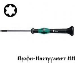 2067 Отвертка TORx® для электронщиков  Tx 1/40 мм