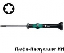 2067 Отвертка TORx® для электронщиков  Tx 2/40 мм