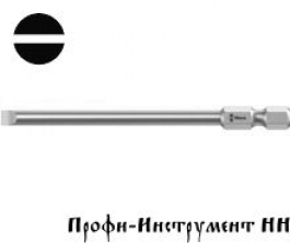 Бита шлицевая 1,2x8,0x50 мм Wera (800/4 Z)