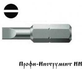 Бита шлицевая 1,0x5,5x25 мм Wera (800/1 Z)