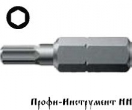 Бита шестигранная SW  6,0/25 мм Wera, 840/1 Z