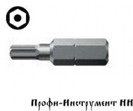 Бита шестигранник с отверстием SW 5,0/25 мм Wera, 840/1 Z BO