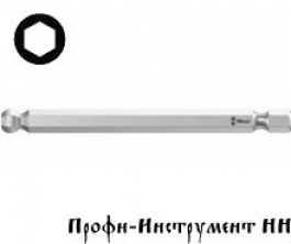 Бита шестигранник 4,0x89 мм Wera, 842/4
