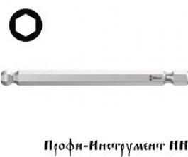 Бита шестигранник 5.0x89 мм Wera, 842/4