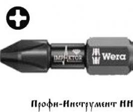 Бита ударная PH3x25 мм Wera 851/1 DC