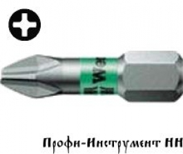 Бита PH3x25 мм Wera 851/1 BTZ