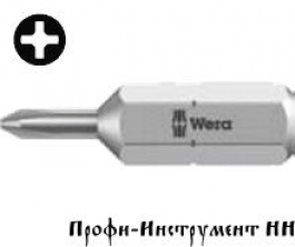 Бита PH1x25 мм Wera 851/1 J