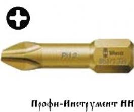 Бита PH3x25 мм Wera 851/1 TiN