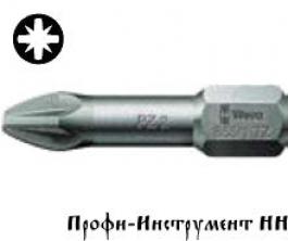 Бита PZ 2/25 мм Wera, 855/1 TZ