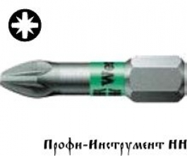 Бита PZ 2/25 мм Wera, 855/1 BTZ