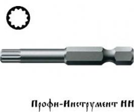 Бита 12 гранная M 6/50 мм Wera, серия 860/4 XZN