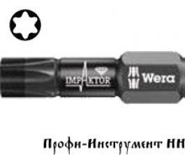 Бита ударная Torx TX 30x25мм Wera, Импактор 867/4  IMP DC