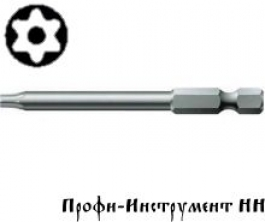Бита Torx с отверстием Tx 10/89 Wera, 867/4 Z BO