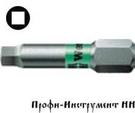 Бита четырехгранная 3/25 мм  Wera, серия 868/1 BTZ