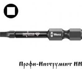 Бита четырехгранная ударная 2х50мм  Wera, серия 868/1 IMP DC