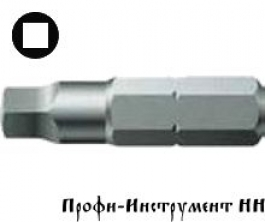 Бита четырехгранная 4/25 мм  Wera, серия  868/1 Z