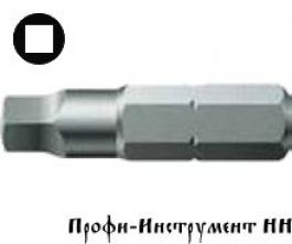 Бита четырехгранная 00/25 мм  Wera, серия  868/1 Z