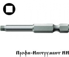 Бита 4-гранная 3/89 мм  Wera, 868/4 Z