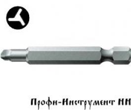 Бита 3-х лопастная 6/50 мм Wera, серия 875/4 TRI-WING