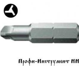 Бита 3-х лопастная 6/25 мм Wera, серия 875/4 TRI-WING