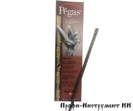 Пилки лобзиковые Pegas, спиральные, по дереву, N5, D1.08мм*130мм, 35tpi, 12штук