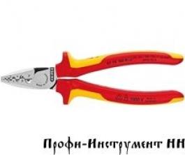 Инструмент для обжима контактных гильз KNIPEX 97 78 180