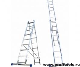 Лестница алюминиевая 2х15(6215) Алюмет