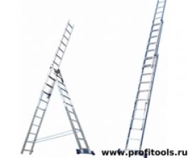 Лестница алюминиевая 3х15(6315) Алюмет