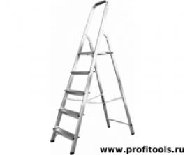 Лестница стремянка алюминиевая матовая 5 ступ. (Ам705)