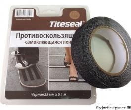 Лента Противоскользящая Titeseal (черная)25ммХ6,1м