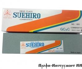 Брусок абразивный, японский, комбинированный, 100/180, 206*53*27мм, Suehiro