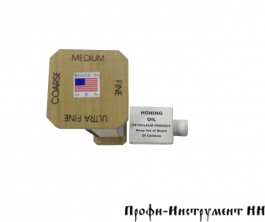 Набор заточной Dan's EZ-Hone, 200*25*6мм, (3 абразива + масло)