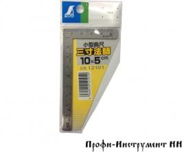 Угольник плоский Shinwa, 100*50мм