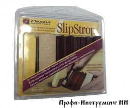 Набор полировальный Flexcut Slipstrop, шаблон для заточки  + хон.паста, набор