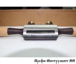 Стружок Dictum с полукруглой колодкой с прямым лезвием, 280мм/50мм
