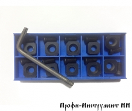 Комплект сменных режущих пластин для FA118.V90-10Z