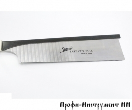 Пила обушковая Shogun Dozuki Saw, 250мм, 24tpi, прямая деревянная рукоять