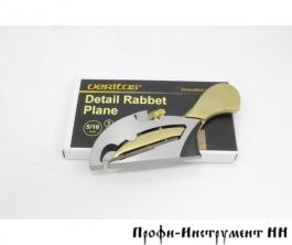 Рубанок-зензубель Veritas Detail Rabbet Plane, 75мм/8мм, 05P75.06