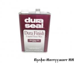 Масло-воск Dura Seal 210 для деревянных полов Нейтральный 3,785 л