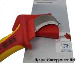 Нож для снятия оболочки с круглых кабелей SB Wiha