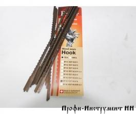 Пилки лобзиковые Pegas по дереву, Super Hook, N18, 0.5*3.0*130мм, 6.68tpi, 12штук