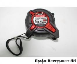 Рулетка Shinwa Right Gear, 5.5м, 19мм, с петлёй